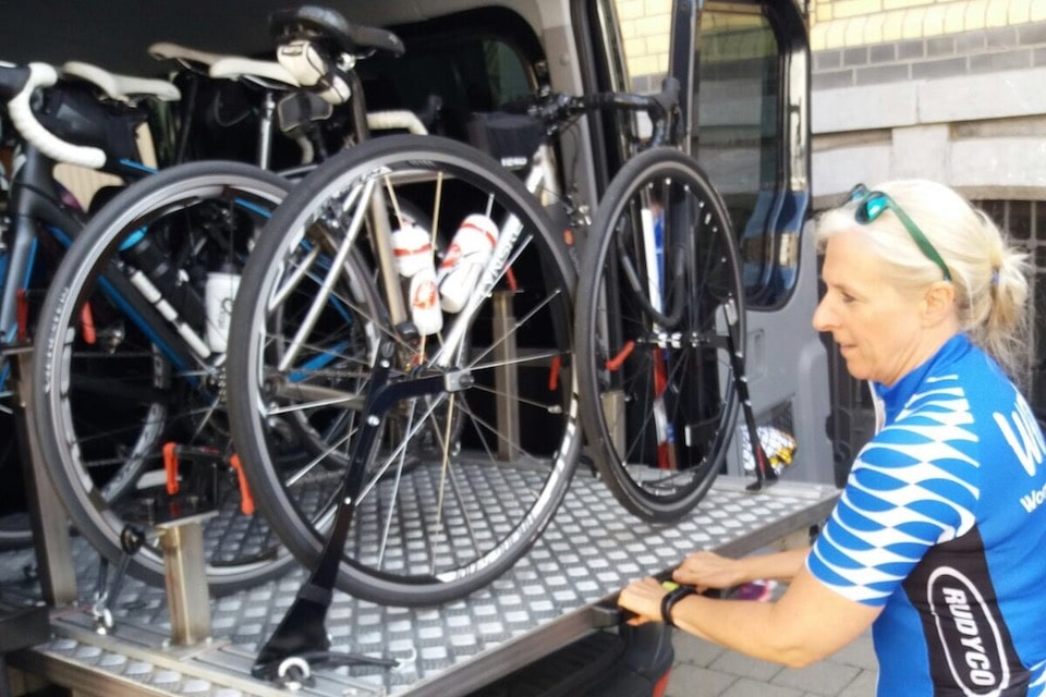 CycloLimo, ook dames gaan er mee op stap!
